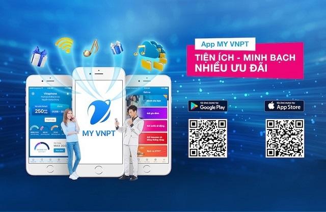 Tải app My Vinaphone về máy để tiếp tục đăng ký sim chính chủ vinaphone