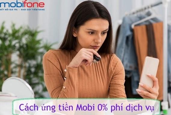 cách ứng tiền sim Mobifone vào tài khoản chính miễn phí